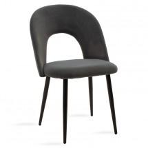 Jídelní židle Janet černá, šedá