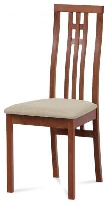 Jídelní židle Jídelní židle Alora béžová, třešeň