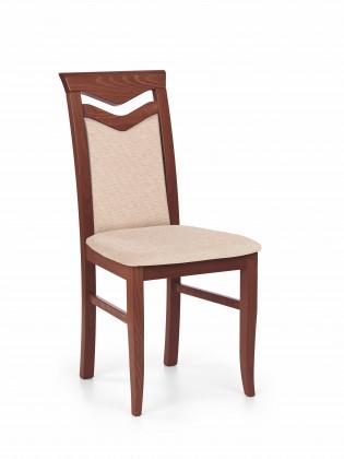 Jídelní židle Jídelní židle Citrone (světle hnědá, třešeň)