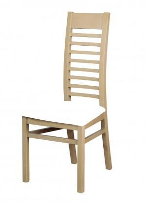 Jídelní židle Jídelní židle Eryka (dřevo - dub sonoma/potah - syntetická kůže)