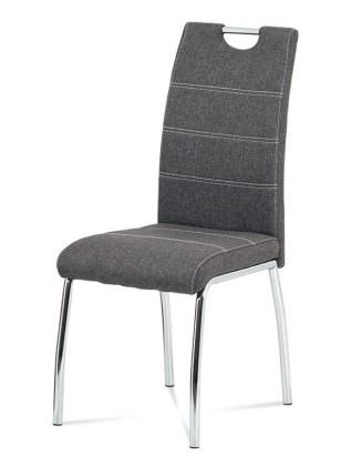 Jídelní židle Jídelní židle Gasela šedá/chrom