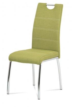 Jídelní židle Jídelní židle Gasela zelená/chrom