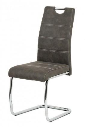 Jídelní židle Jídelní židle Grama antracit/chrom