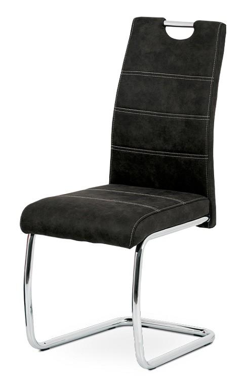 Jídelní židle Jídelní židle Grama černá/chrom