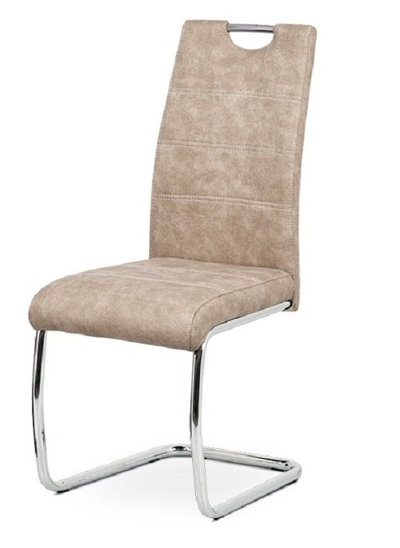 Jídelní židle Jídelní židle Grama krémová/chrom