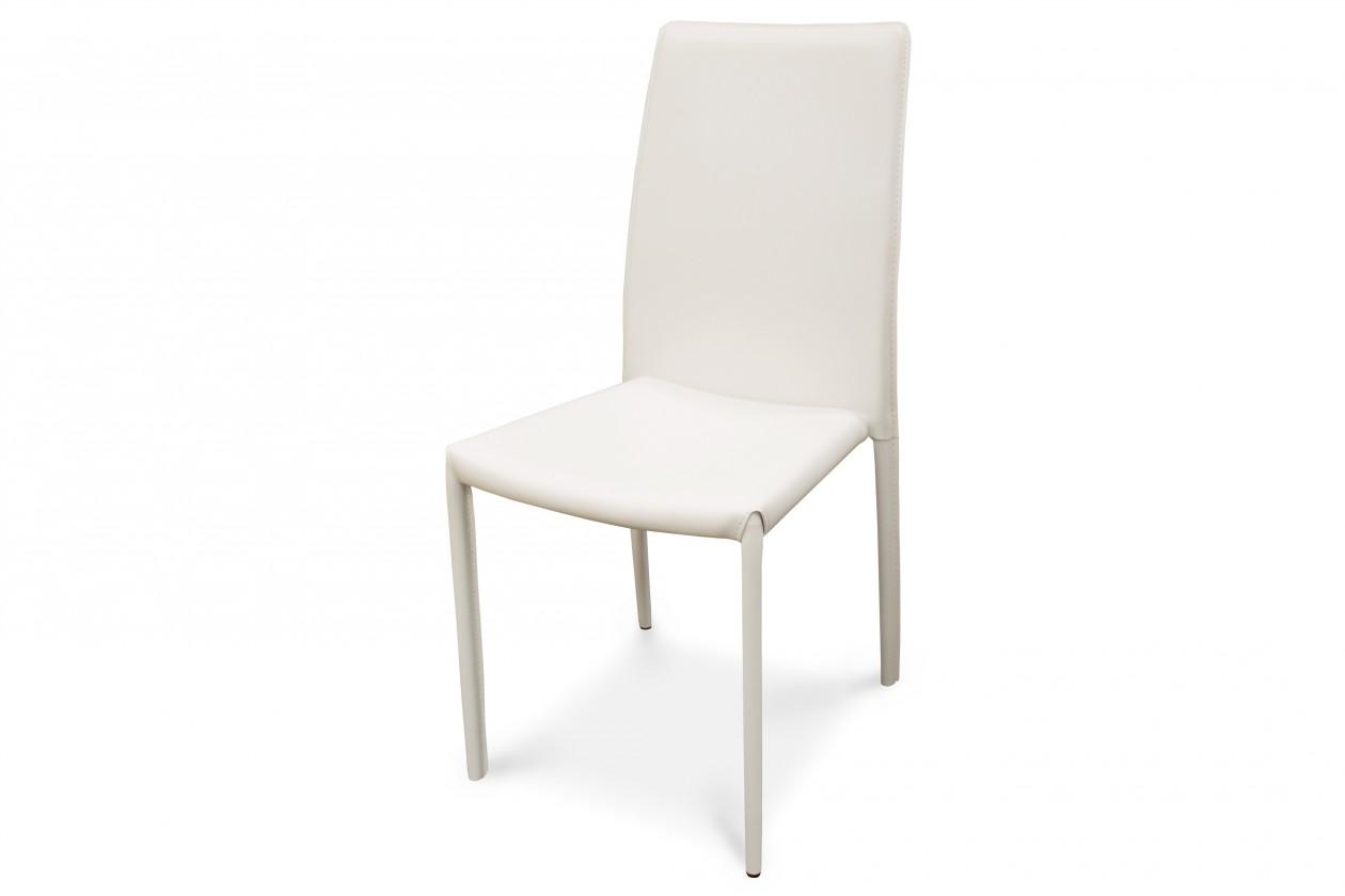 Jídelní židle Jídelní židle K128 (bílá)