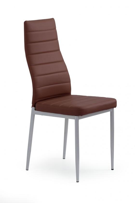 Jídelní židle Jídelní židle K70 (tmavě hnědá)