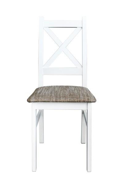 Jídelní židle Jídelní židle Krzyžak new bílá, šedá