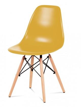 Jídelní židle Jídelní židle Mila (žlutá)