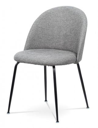 Jídelní židle Jídelní židle Prudence (šedá, černá)