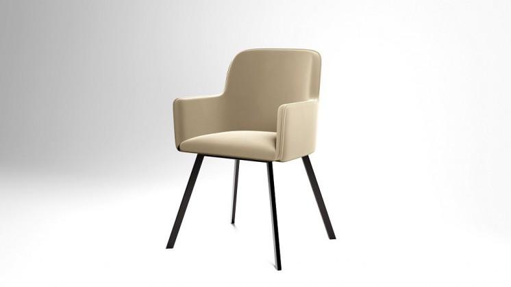 Jídelní židle Jídelní židle Vian béžová, černá