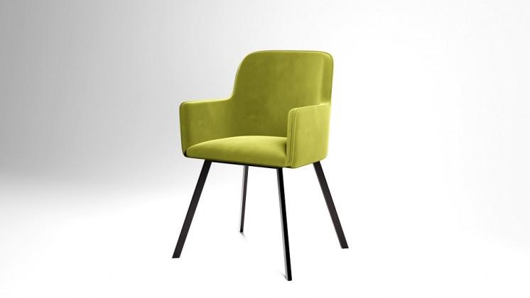 Jídelní židle Jídelní židle Vian zelená, černá