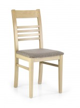 Jídelní židle Juliusz béžová, dub