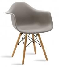 Jídelní židle Justy dub, šedá