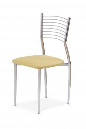 Jídelní židle K 9 (krémová)