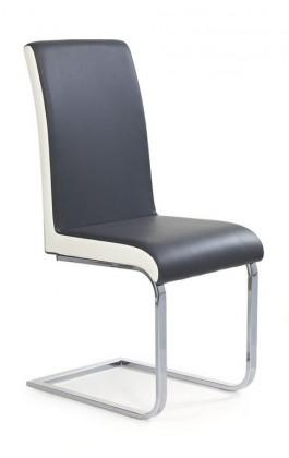 Jídelní židle K103 (šedá/bílá)