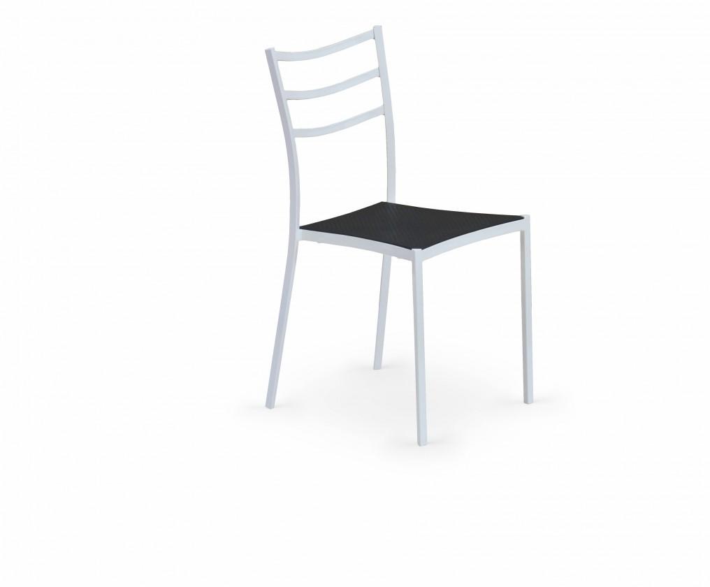 Jídelní židle K159  (černá, bílá)