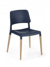 Jídelní židle K163 (černá) - II. jakost