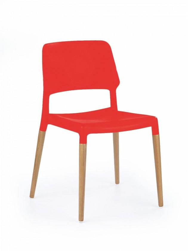 Jídelní židle K163 (červená)