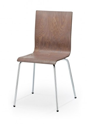 Jídelní židle K167 (světlý dub,ocel)