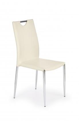 Jídelní židle K196 (tmavý krém)