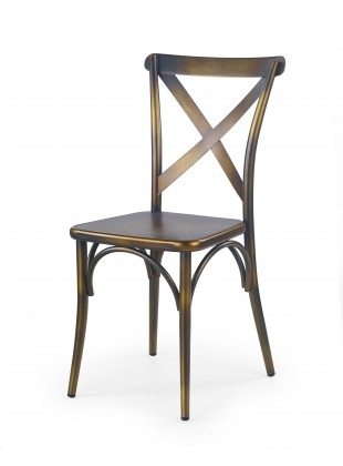 Jídelní židle K205 - Jídelní židle (měděná)