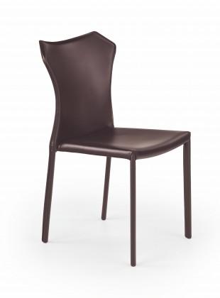 Jídelní židle K208 - Jídelní židle (tmavě hnědá)