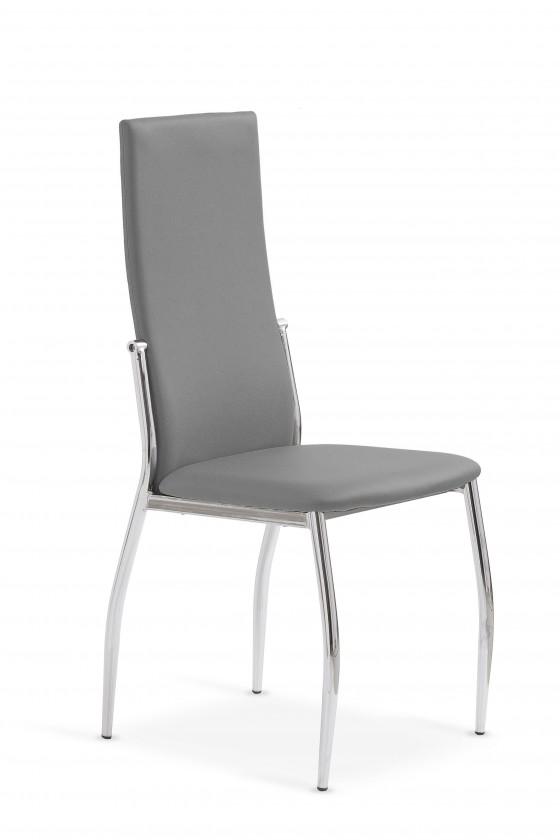 Jídelní židle K3  (chrom,šedá)