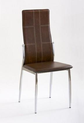 Jídelní židle K47 (hnědá)