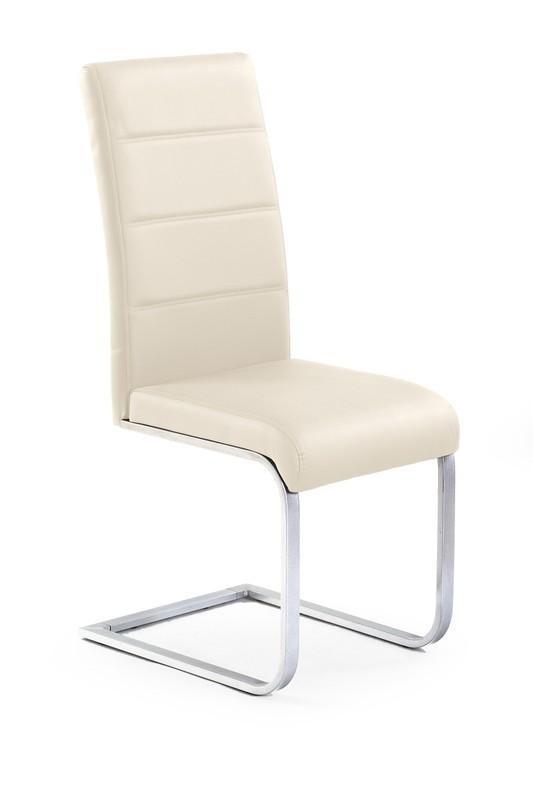 Jídelní židle K85 (tmavý krém)