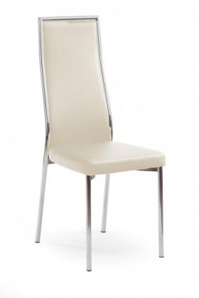 Jídelní židle K86 (tmavý krém)