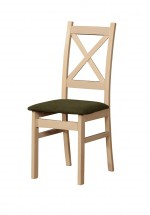 Jídelní židle Kasper dub sonoma, hnědá