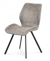 Jídelní židle Maddy béžová, černá