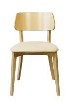 Jídelní židle Medal dub, béžová