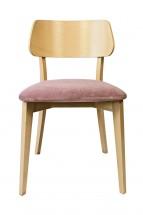 Jídelní židle Medal dub, fialová