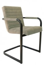 Jídelní židle Merenga černá, béžová