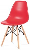 Jídelní židle Mila červená - PŘEBALENO