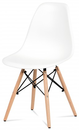 Jídelní židle Mila - Jídelní židle bílá