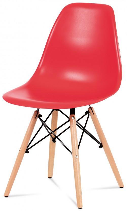 Jídelní židle Mila - Jídelní židle červená