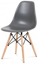 Jídelní židle Mila šedá