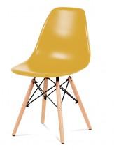 Jídelní židle Mila (žlutá)