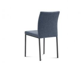 Jídelní židle Miro modrá, šedá
