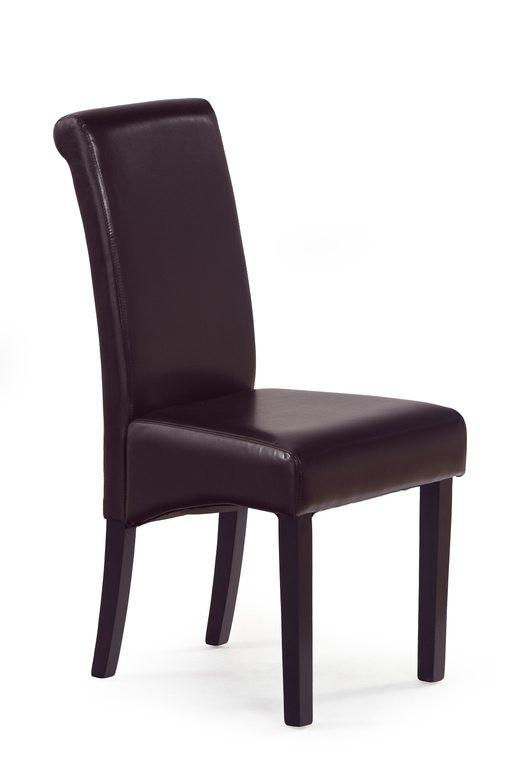 Jídelní židle Nero - Jídelní židle, nosnost 120 kg (wenge/ tmavě hnědá)