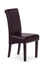 Jídelní židle Nero, nosnost 120 kg (wenge/ tmavě hnědá)