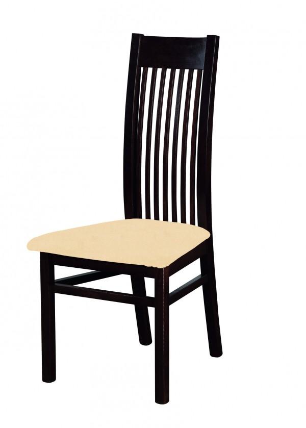 Jídelní židle Patrycja - jídelní židle (dřevo - wenge/potah - látka)