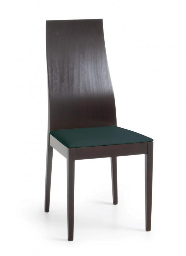 Jídelní židle Pinoza (wenge/látka navara petrolejová)
