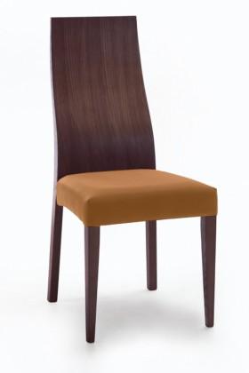 Jídelní židle Pinta  (jasan/navara hořčicová)