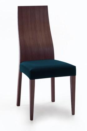 Jídelní židle Pinta  (jasan/navara petrolejová)