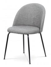 Jídelní židle Prudence (šedá, černá)