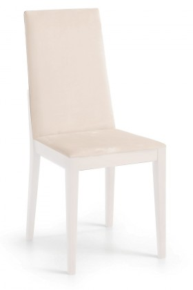 Jídelní židle Rabida  (bílá matná/antara světle béžová)
